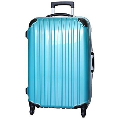 (ビータス) Beatas スーツケース TSAロック 軽量 アルミフレーム ビータス BH-F1000 Lサイズ 鏡面ターコイズブルー(大型 7日8