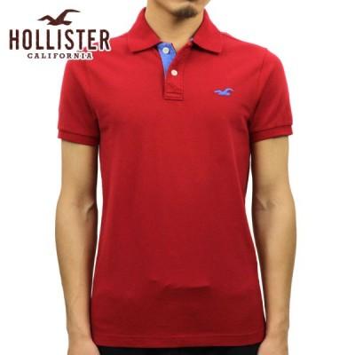 ホリスター HOLLISTER 正規品 メンズ ストレッチ ピケ 半袖ポロシャツ Stretch Pique Polo 324-224-0617-500