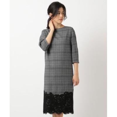 ICB/アイシービー Lace Pattern Combo ワンピース ブラック系4 4