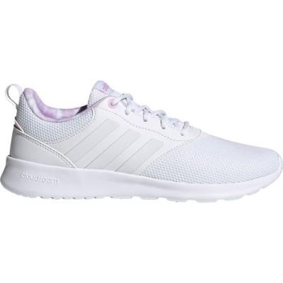 アディダス adidas レディース ランニング・ウォーキング シューズ・靴 QT Racer 2.0 Running Shoes White/White