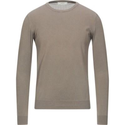 アルファス テューディオ ALPHA STUDIO メンズ ニット・セーター トップス sweater Khaki