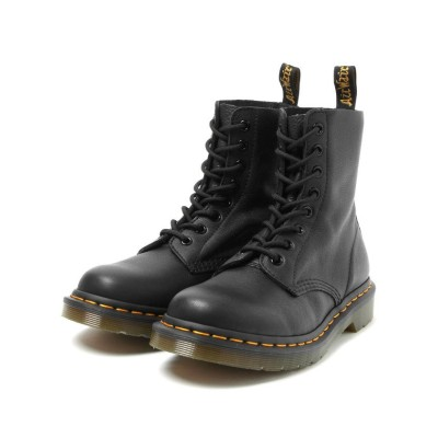 【ビームス ウィメン】 Dr.Martens / PASCAL 8ホール ブーツ レディース ブラック 6 BEAMS WOMEN