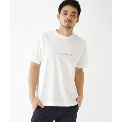 BASESTATION / 抗菌防臭 ロゴグラフィックバリエーション 半袖Tシャツ MEN トップス > Tシャツ/カットソー