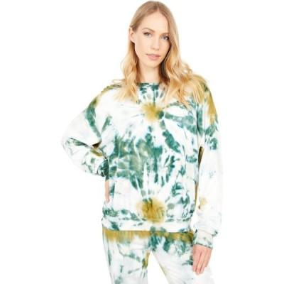 ヤング ファビュラス アンド ブローク Young Fabulous & Broke レディース スウェット・トレーナー トップス Coraline Sweatshirt Winter Leaf Venus Wash