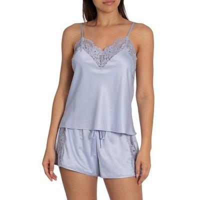 インブルーム レディース ナイトウェア アンダーウェア Because Matte Satin Shorty Pajama Set