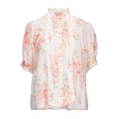 THE GREAT. フローラル柄シャツ&ブラウス  レディースファッション  トップス  シャツ、ブラウス  長袖 ライトピンク