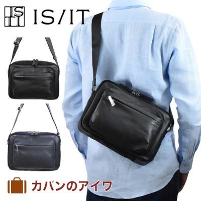 IS/IT イズイット ISIT スラッシュ・シリーズ ショルダーバッグ B5サイズ メンズ ショルダー ショルダーバック プレゼント 彼氏 男性 肩掛けバッグ 肩掛けカバン