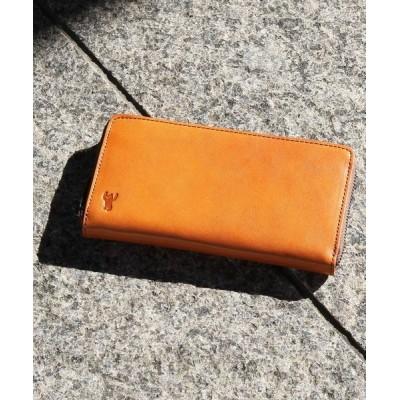 coen メンズ イタリアンレザーロングウォレット 財布/小物 M.Brn