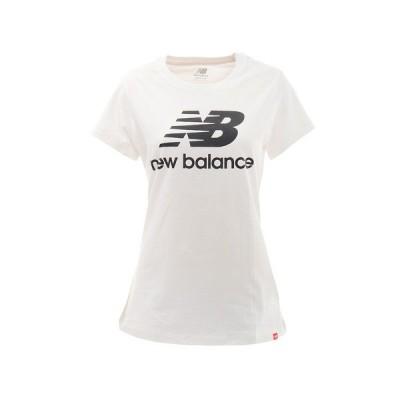ニューバランス(new balance) Tシャツ レディース 半袖 エッセンシャルズスタックドロゴ WT91546WK オンライン価格 (レディース)