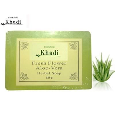 カーディ フレッシュフラワー2 ハーバルソープ Rockside KHADI FRESH FLOWER ALOE-VERA SOAP