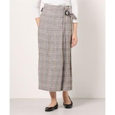 スカート UHR:バックルロングスカート
