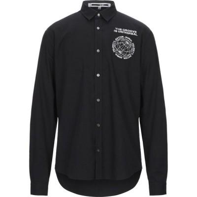 アレキサンダー マックイーン McQ Alexander McQueen メンズ シャツ トップス solid color shirt Black