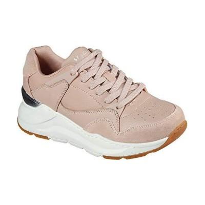 Skechers Women's Street Rovina  Cool to The Core Sneaker, Tan, 6.5