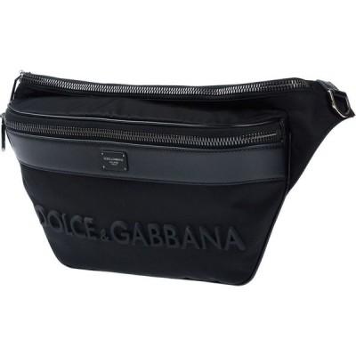 ドルチェ&ガッバーナ DOLCE & GABBANA メンズ ボディバッグ・ウエストポーチ バッグ backpack & fanny pack Black