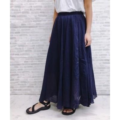 スカート フレアボリュームロングスカート【ZOZOTOWN限定商品】