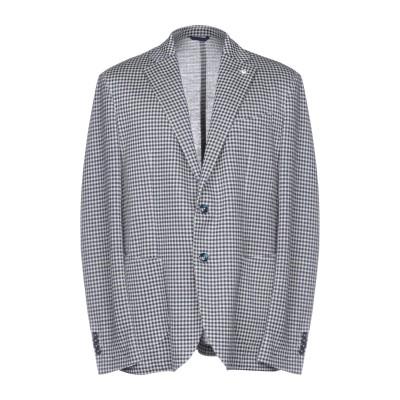 エル・ビー・エム 1911 L.B.M. 1911 テーラードジャケット ブルー 52 麻 52% / コットン 48% テーラードジャケット