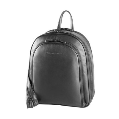 Derek Alexander Three Zip Organizer Backpack, Black/Buff, One Size 並行輸入品
