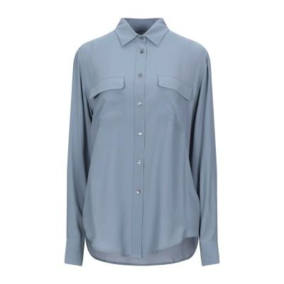 CAMICETTASNOB シャツ スカイブルー 42 アセテート 65% / シルク 35% シャツ