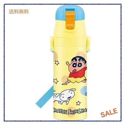 スケーター スポーツボトル 子供用 ステンレス 水筒 クレヨンしんちゃん 470ml SDC4