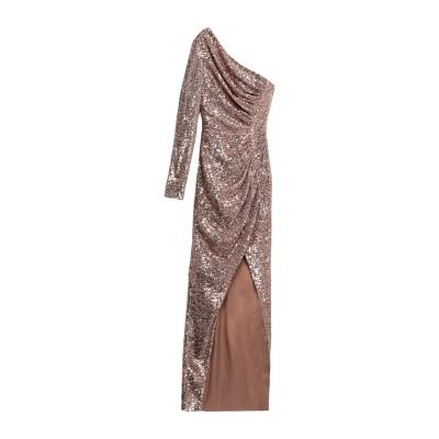 RASARIO ロングワンピース&ドレス サンド 34 ポリエステル 100% ロングワンピース&ドレス