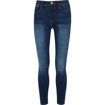フレーム Frame レディース ジーンズ・デニム ボトムス・パンツ Le High Skinny Dark Blue Jeans Blue