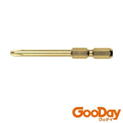 ベッセル 段付ゴールドビット2本組 GM +2×65mm 1Pk GM162065 ※配送毎送料要