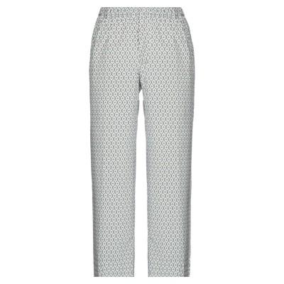 QL2  QUELLEDUE パンツ ホワイト 38 コットン 97% / ポリウレタン 3% パンツ