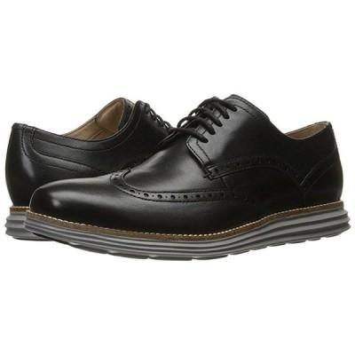 コールハーン Original Grand Shortwing メンズ オックスフォード Black Leather/Ironstone