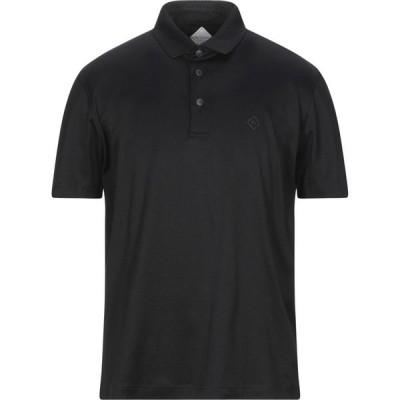 パルジレリ PAL ZILERI メンズ ポロシャツ トップス polo shirt Black