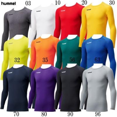 あったか丸首インナーシャツ hummel ヒュンメルアンダー(インナー)シャツ20AW (HAP5149C)