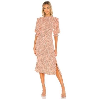 フェイスフルザブランド FAITHFULL THE BRAND レディース ワンピース ワンピース・ドレス Jean-Marie Midi Dress Mathiola Floral