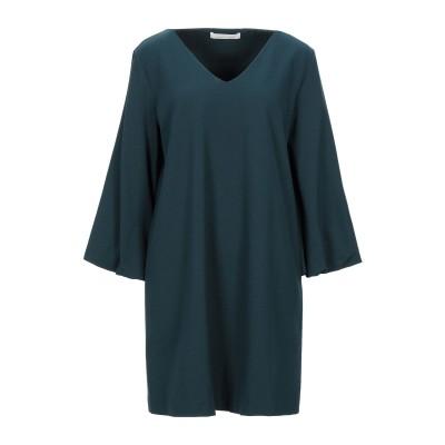 リビアナ コンティ LIVIANA CONTI ミニワンピース&ドレス ダークグリーン 44 レーヨン 68% / ナイロン 27% / ポリウレタ