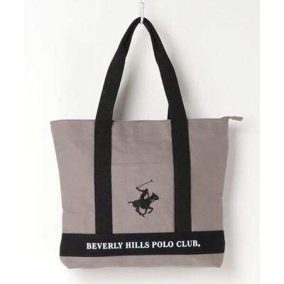 SETUP7 / 【BEVERLY HILLS POLO CLUB】ポロキャンバストート 縦長 BHC003 WOMEN バッグ > トートバッグ