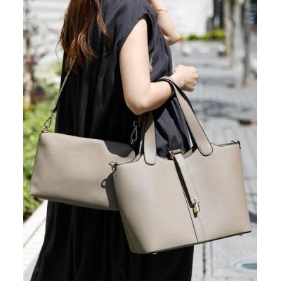 VitaFelice / インナーバッグ付き3wayトートバッグ WOMEN バッグ > ショルダーバッグ