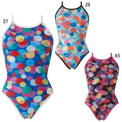 ミズノ 水泳 水球 競泳トレーニング用水着 レディース エクサースーツ ミディアムカット MIZUNO N2MA0275