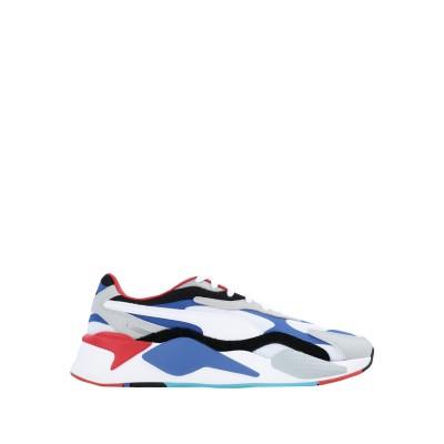 プーマ PUMA スニーカー&テニスシューズ(ローカット) ホワイト 9.5 紡績繊維 / 革 スニーカー&テニスシューズ(ローカット)