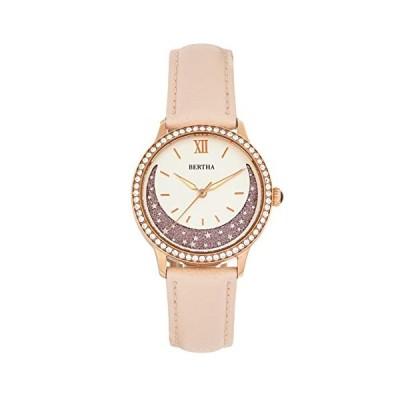 Bertha Dolly Quartz Light Pink Genuine Leather Rose Gold Women's Watch BTHBS1006 並行輸入品
