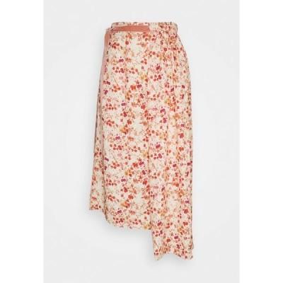 マザーオブパール スカート レディース ボトムス ASYMMETRIC SKIRT WITH GATHERED WAIST - A-line skirt - sepia blossom