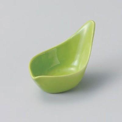 緑花びら珍味 和食器 珍味 業務用 約8.6cm 和食 和風 先付 小鉢 小 ミニ鉢 前菜 珍味入れ 付出し 松花堂