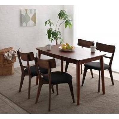 ダイニングテーブルセット 4人用 椅子 おしゃれ 安い 北欧 食卓 5点 ( 机+チェア4脚 ) 幅115 デザイナーズ クール スタイリッシュ ミッド