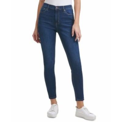 カルバンクライン レディース デニムパンツ ボトムス High-Rise Jeans Pacific