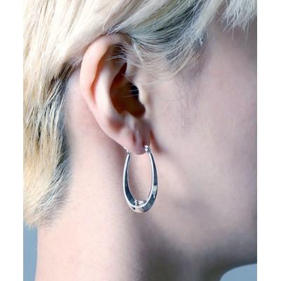 ピアス 【YArKA/ヤーカ】silver925 hoop U pierce/フープUピアス シルバー925