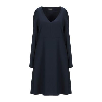 OTTOD'AME ミニワンピース&ドレス ダークブルー 40 ポリエステル 100% ミニワンピース&ドレス