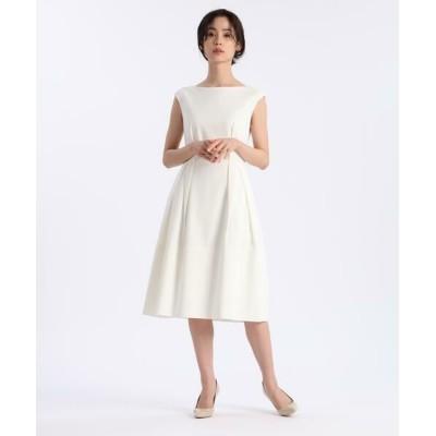 ef-de/エフデ 《大きいサイズ》ジャージードレス《M Maglie le cassetto》 ホワイト 15