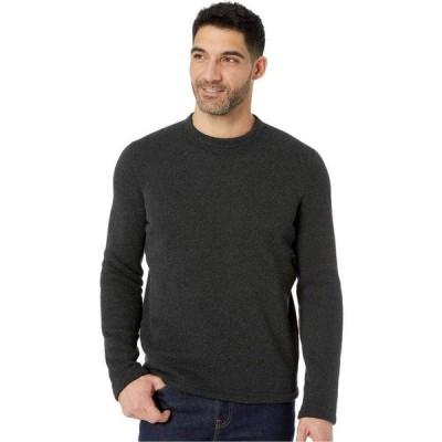 スマートウール Smartwool メンズ ニット・セーター トップス Hudson Trail Fleece Crew Sweater Dark Charcoal
