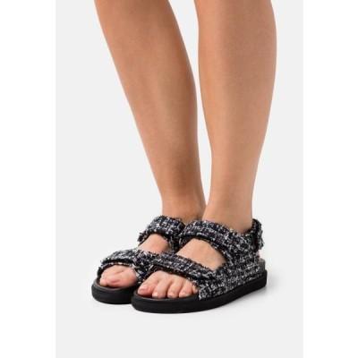 アロハズ レディース 靴 シューズ HOOK LOOP - Sandals - black