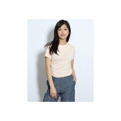 リネーム Rename フレンチスリーブTシャツ (コーラルピンク)