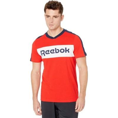 リーボック Reebok メンズ フィットネス・トレーニング ロゴTシャツ トップス Training Essentials Logo Short Sleeve Graphic Tee Instinct Red