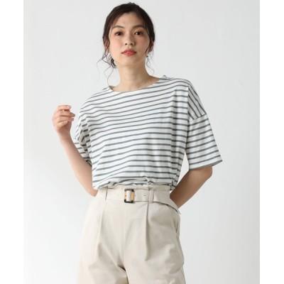 tシャツ Tシャツ ゆるボーダーTシャツ