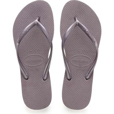 ハワイアナス Havaianas レディース サンダル・ミュール シューズ・靴 Slim Sandal Lilac Announce